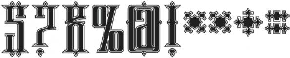phoenix regular otf (400) Font OTHER CHARS