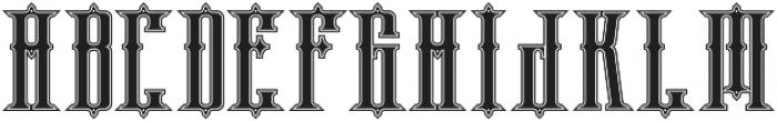 phoenix regular otf (400) Font UPPERCASE