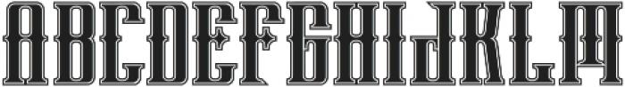phoenix regular otf (400) Font LOWERCASE