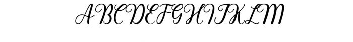 Pharosi Reguler.ttf Font UPPERCASE