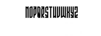 Phoeniks.otf Font UPPERCASE
