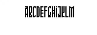 Phoeniks.otf Font LOWERCASE