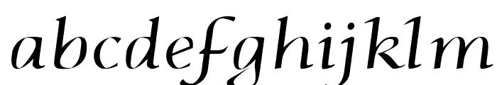 Phaedrus Italic Font LOWERCASE