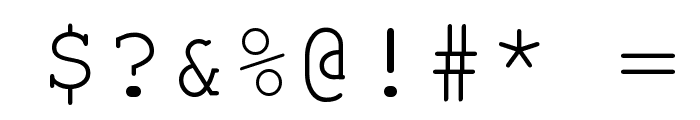 Phaisarn Font OTHER CHARS
