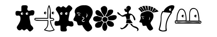 PhaistosAlphabet Font OTHER CHARS
