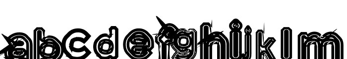 Phanith THAT Font LOWERCASE