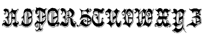 Phantasinian Regular Font UPPERCASE