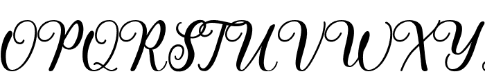 Pharosi Personal Use Only Font UPPERCASE