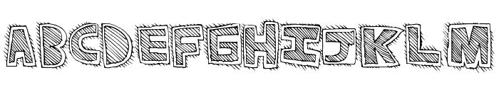 PhatRave Font LOWERCASE