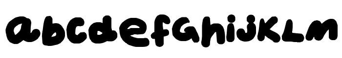 Phat Font LOWERCASE
