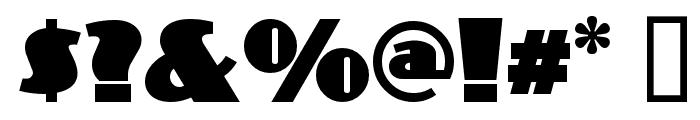 PhattPhreddy Font OTHER CHARS