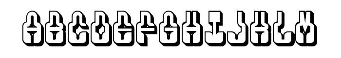 Phenomenal Hollow Regular Font UPPERCASE