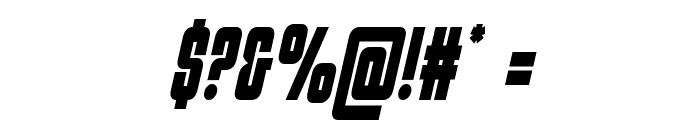 Philadelphia Condensed Semi-Italic Font OTHER CHARS