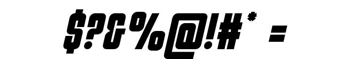 Philadelphia Semi-Italic Font OTHER CHARS