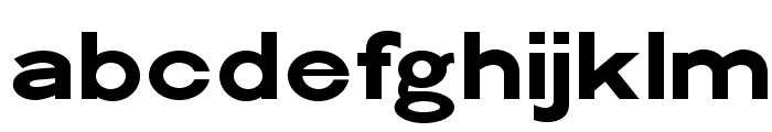 Philadelphian-Gothic Font LOWERCASE