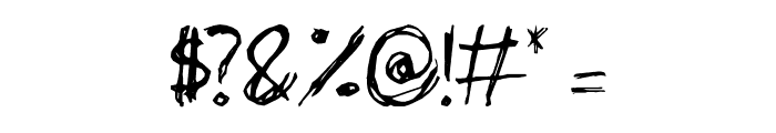 Philip' Signature Font OTHER CHARS