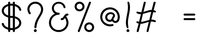 Philippine Regular Font OTHER CHARS