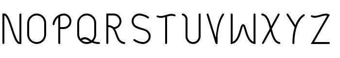Philippine Regular Font UPPERCASE