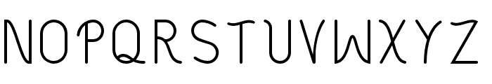 Philippine Regular Font LOWERCASE