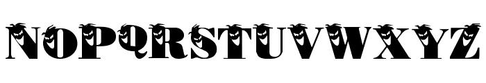 PhilliBoo Font UPPERCASE