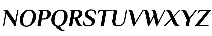 Philosopher Bold Italic Font UPPERCASE