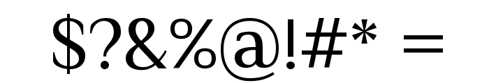 Philosopher Font OTHER CHARS