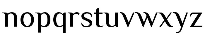 Philosopher Font LOWERCASE