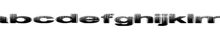 Philtered Phont Font LOWERCASE