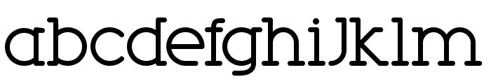 Phobo Font LOWERCASE