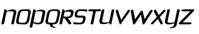 Phoenix Sans  Italic Font UPPERCASE