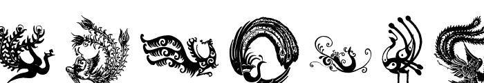 Phoenix Font UPPERCASE