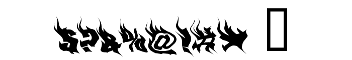 PhoenixTwo Font OTHER CHARS