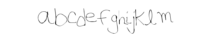 PhoneHome Font LOWERCASE