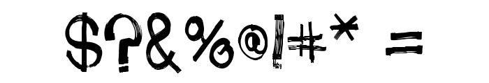 PhoneStreak Font OTHER CHARS