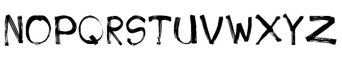 PhoneStreak Font UPPERCASE