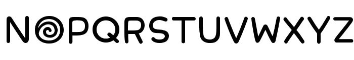 PhonepadTwo Regular Font UPPERCASE