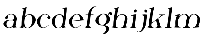 Phosphorus Fluoride Font LOWERCASE