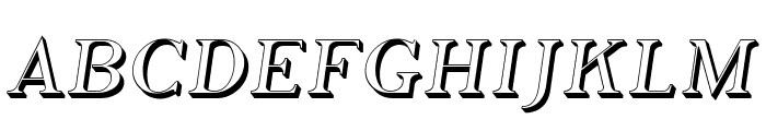 Phosphorus Hydride Font UPPERCASE
