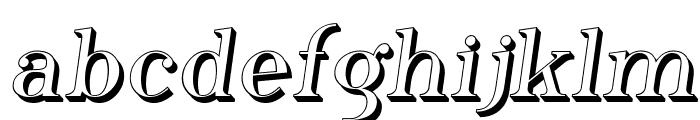 Phosphorus Hydride Font LOWERCASE