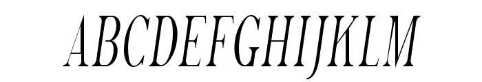Phosphorus Trichloride Font UPPERCASE
