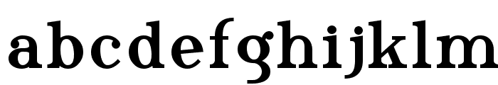 Phosphorus Triselenide Font LOWERCASE