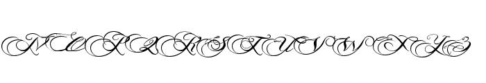 PhotographScriptFreePersonal Font UPPERCASE