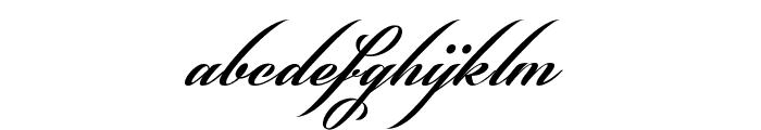 Phraell Font LOWERCASE