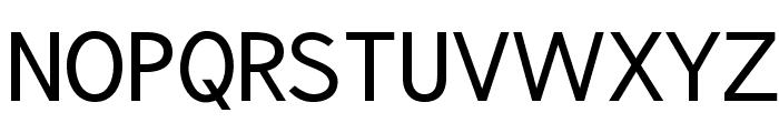 phat Otto regular Font UPPERCASE