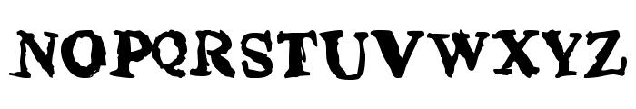 phentype Font UPPERCASE
