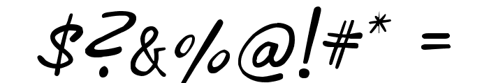 phitradesign INK Font OTHER CHARS