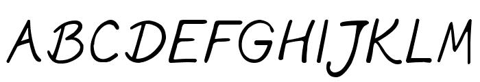 phitradesign INK Font UPPERCASE