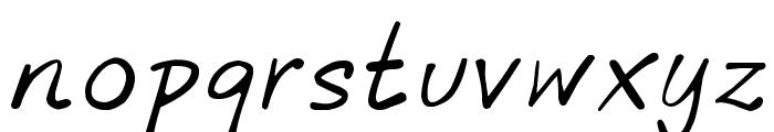 phitradesign INK Font LOWERCASE