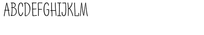 PH 200 Narrow Font UPPERCASE