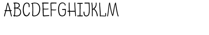 PH 300 Regular Font UPPERCASE